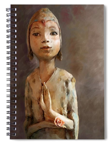 Zen Be With You Spiral Notebook
