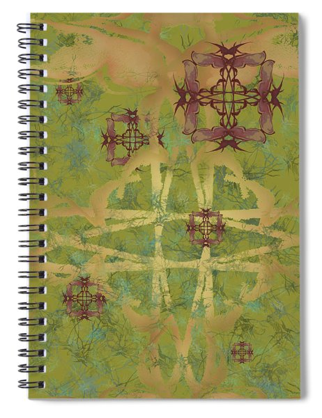 Zen Fly Colony Spiral Notebook