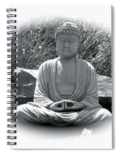Zen Spiral Notebook by Michael Lucarelli
