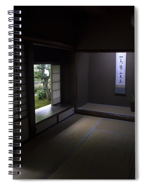 Zen Tea Room Of Koto-in Temple -- Kyoto Japan Spiral Notebook