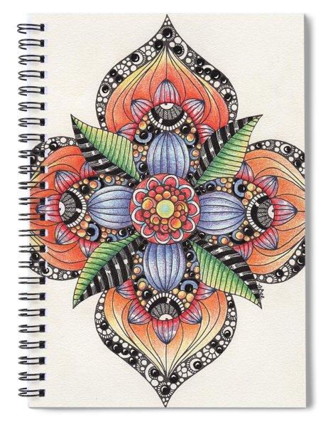 Zendala Template #1 Spiral Notebook