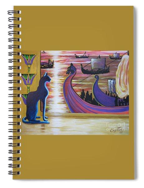 Zig Of Blaa Kattproduksjoner   Inspects The Ships Spiral Notebook
