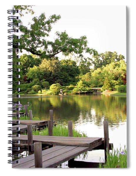 Zig Zag Bridge 2703 H_2 Spiral Notebook