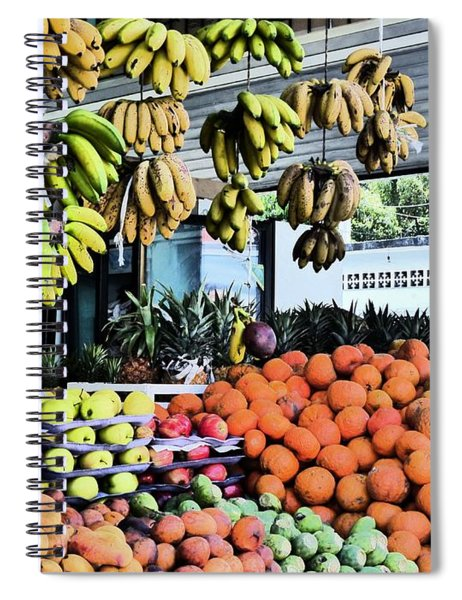Zihuatanejo Market Spiral Notebook