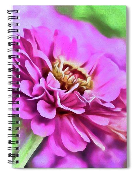 Zinnia Art 2 Spiral Notebook