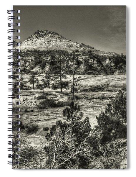 Zion National Park Along Rt 9 Spiral Notebook