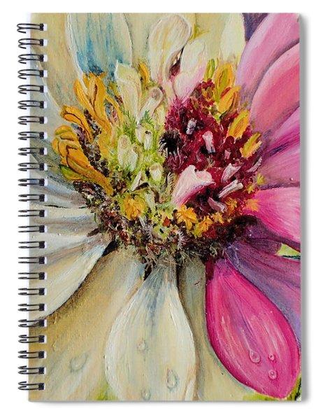 Zippy Zinnia Spiral Notebook