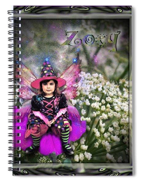 Zoey Spiral Notebook