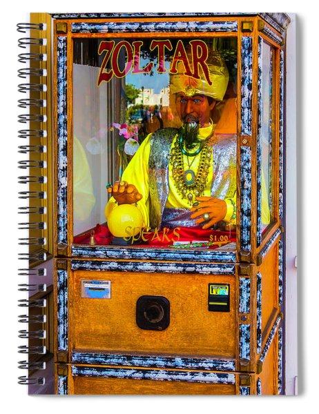 Zoltar Fortune Reader Spiral Notebook