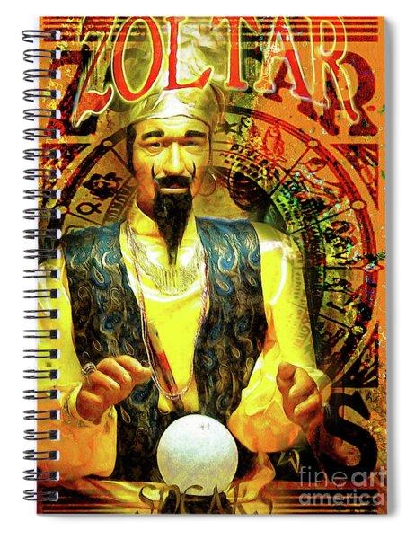 Zoltar Speaks Fortune Teller 20161108v3 Spiral Notebook