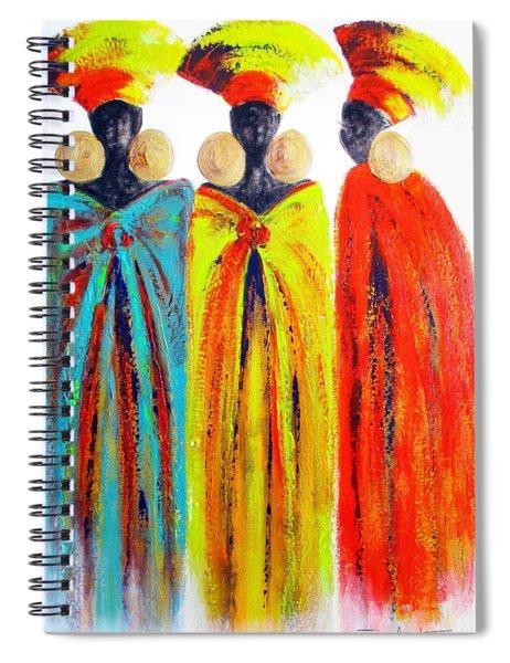 Zulu Ladies Spiral Notebook