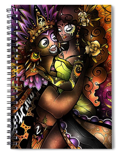 Zulu Love Spiral Notebook