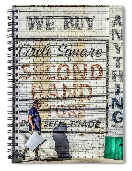 003 - Circle Square Spiral Notebook