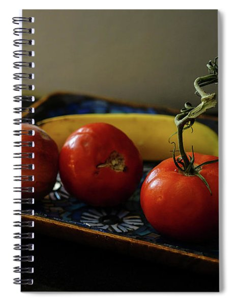 009 - Red Tomato Spiral Notebook