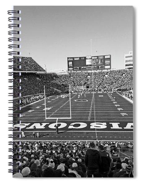 0095 Bw Camp Randall Stadium Spiral Notebook