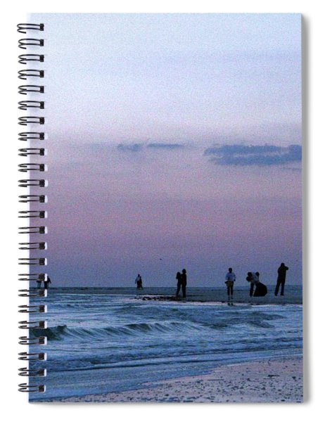 011 - Florida Silhouettes Spiral Notebook