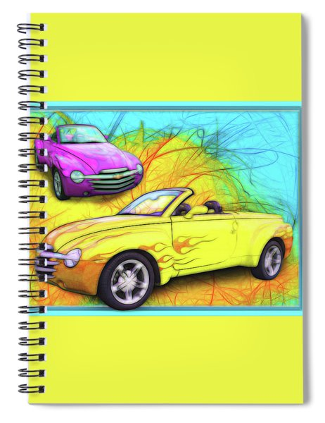 03 Chevy Ssr Spiral Notebook