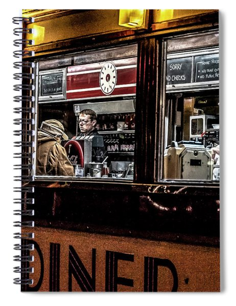 034 - People At Mickey's Spiral Notebook