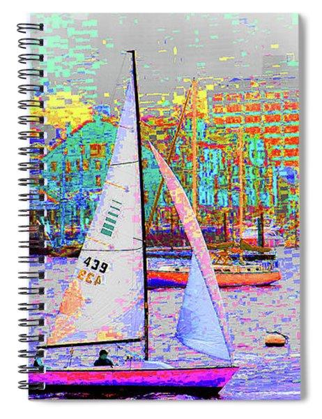 1-13-2009babcdefghij Spiral Notebook