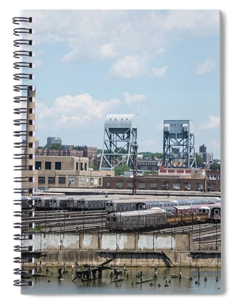 207th Street Railyards Spiral Notebook