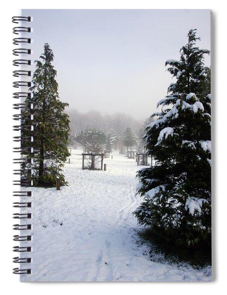 30/01/19  Rivington. Memorial Arboretum. Spiral Notebook