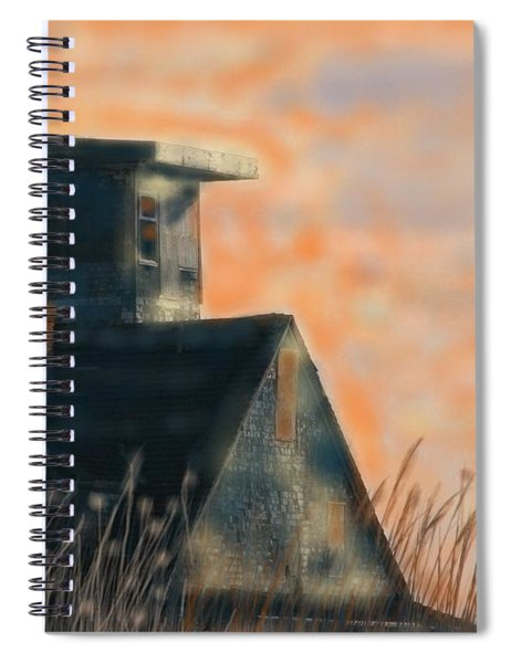Abandoned Pea Island Life Saving Station  Spiral Notebook