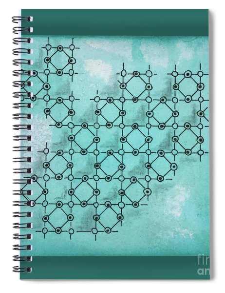 Abstract Biological Illustration Spiral Notebook