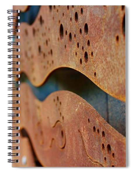 1 Abstract Lake Patricia Sign 2 Spiral Notebook