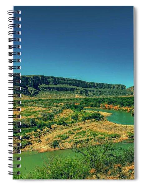 Along The Rio Grande Spiral Notebook