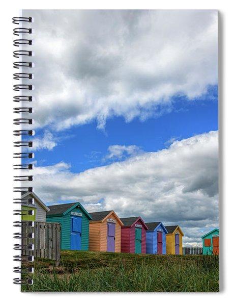 Amble - England Spiral Notebook