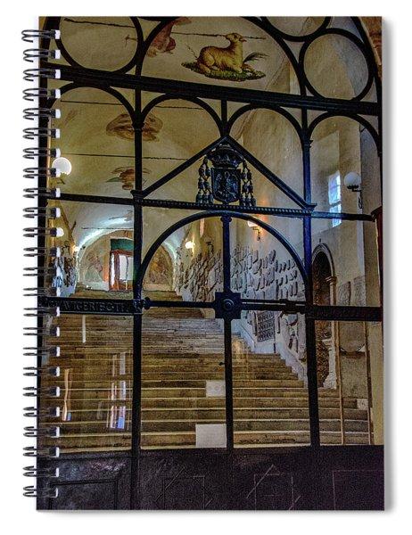 Artifacts Spiral Notebook