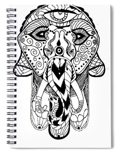 Artist Spiral Notebook by Nathen Warren
