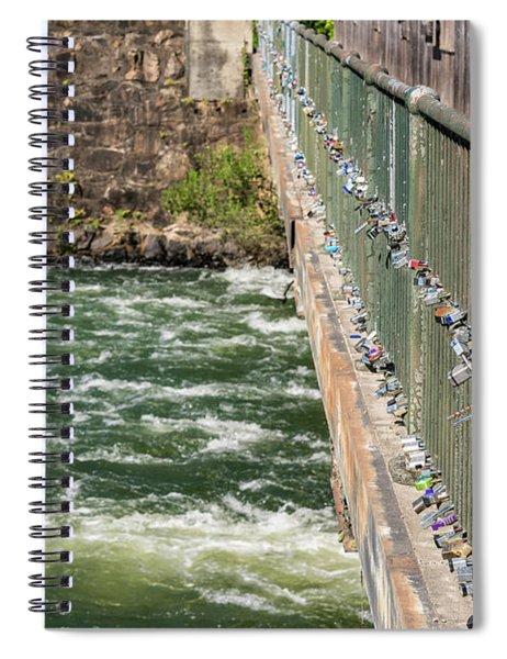 Augusta Canal Headgates - Augusta Ga Spiral Notebook