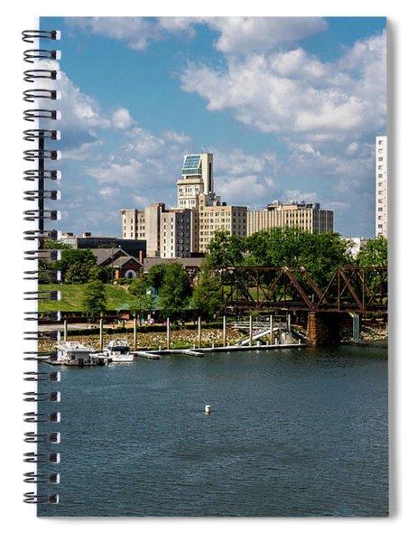 Augusta Ga - Savannah River Spiral Notebook