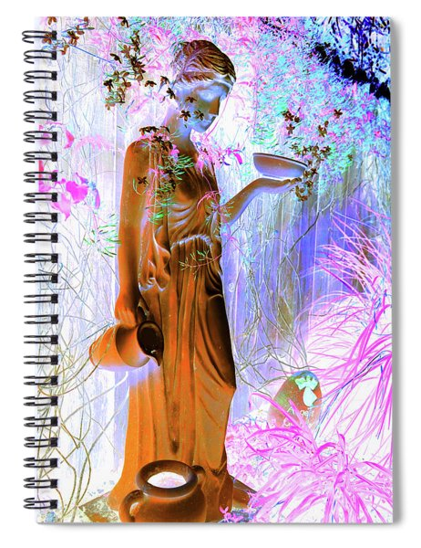 Awaiting For Your Return Spiral Notebook