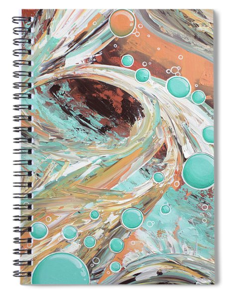 Beach Glass Spiral Notebook