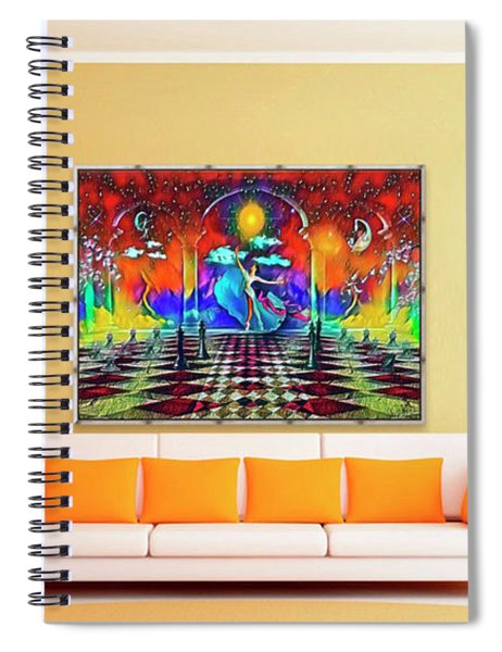 Beatific-games  Spiral Notebook