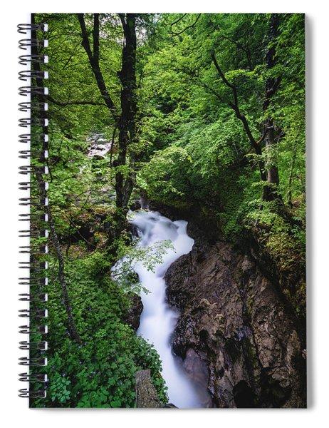 Bela River, Balkan Mountain Spiral Notebook