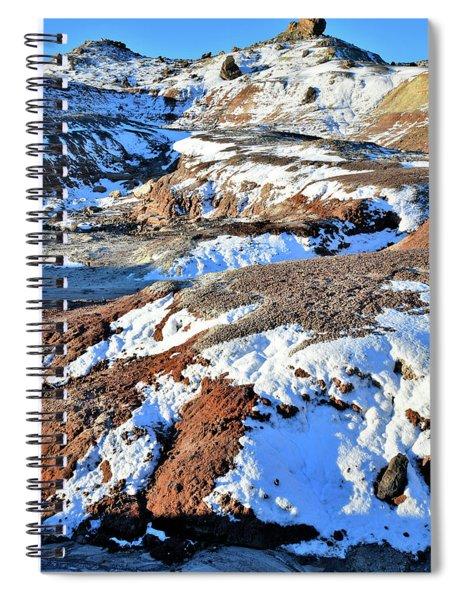 Bentonite Dunes Of Ruby Mountain Spiral Notebook