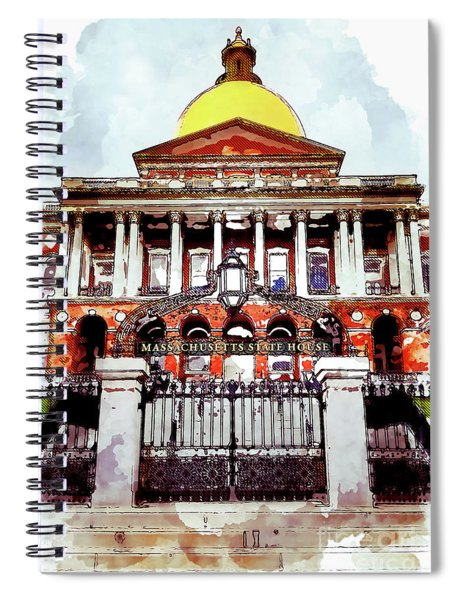 Building Spiral Notebook