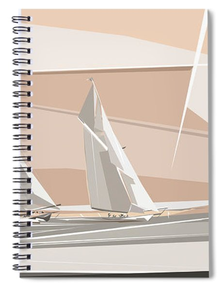 C-class Yachts  Spiral Notebook