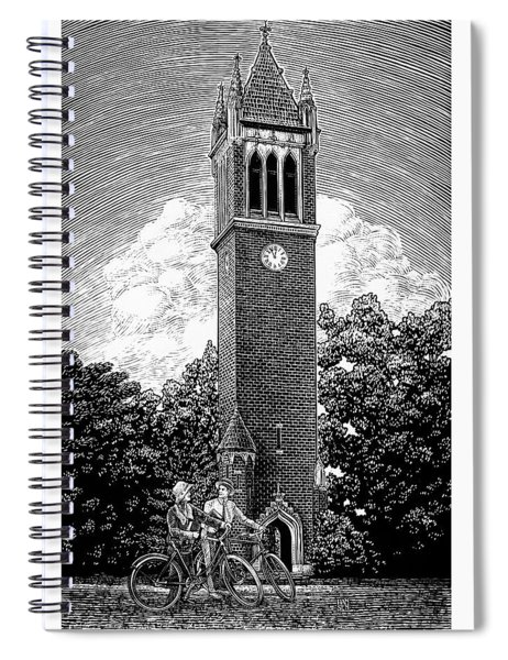 Campanile 1928 Spiral Notebook