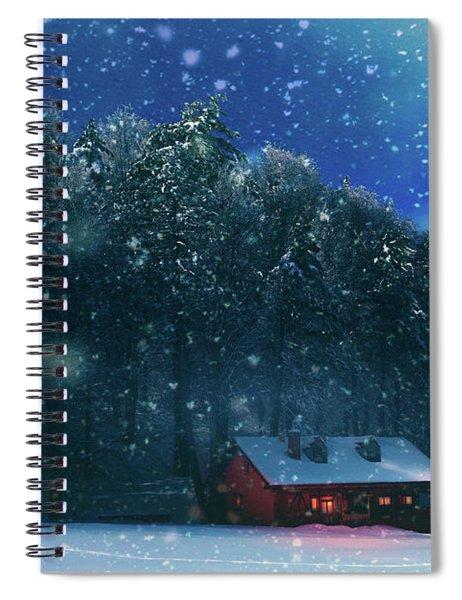 Chalet Spiral Notebook