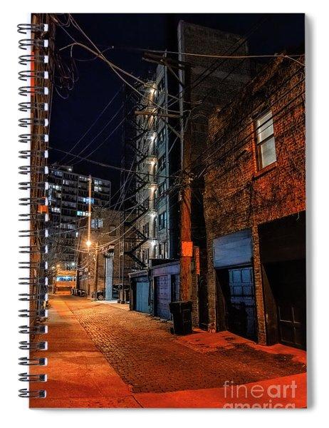 Chicago Nights Spiral Notebook