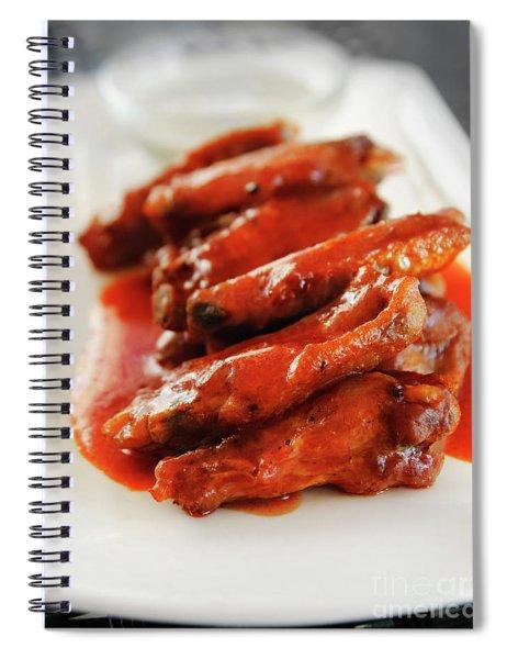 Chicken Wings Spiral Notebook