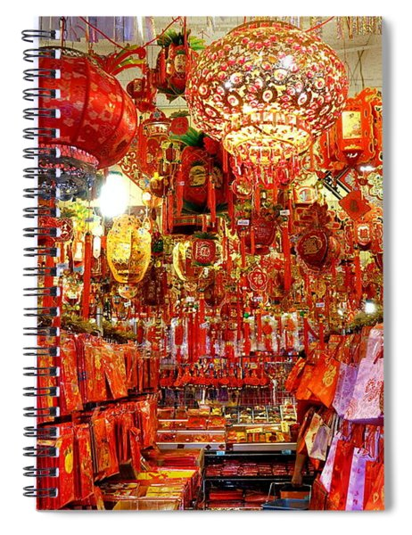 Chinese New Years Decorations For 2019 Spiral Notebook