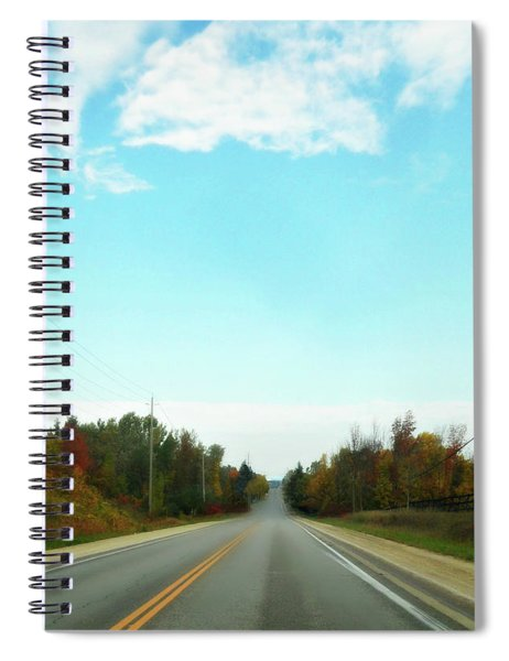 Collingwood In The Distance Spiral Notebook