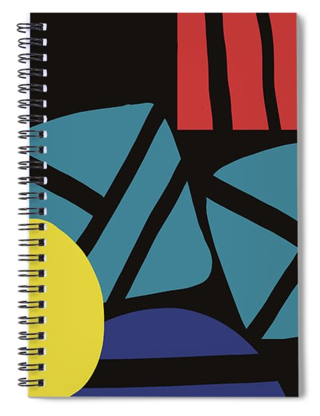 Colorful Bento 3- Art By Linda Woods Spiral Notebook