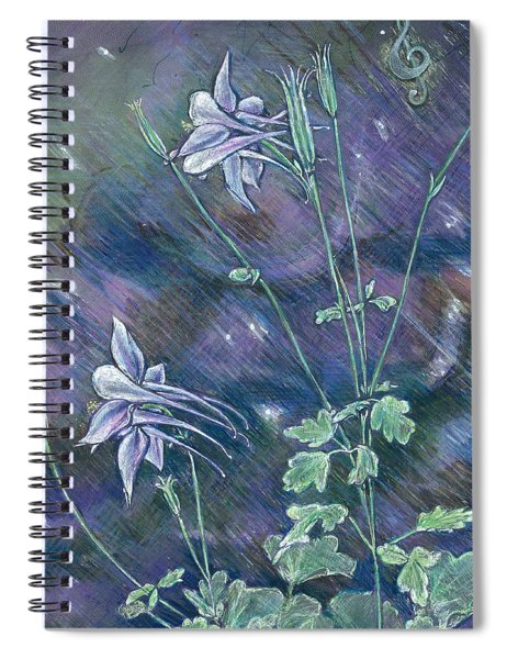 Columbine Song Spiral Notebook