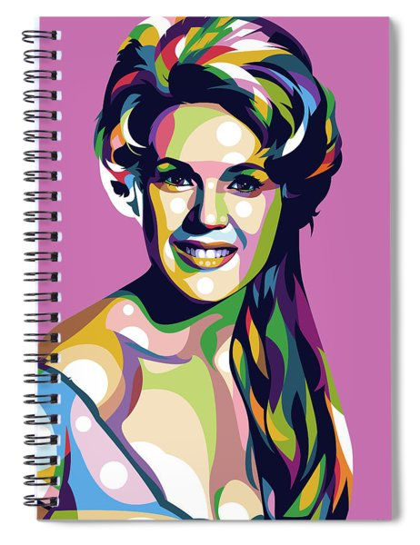 Connie Stevens Spiral Notebook